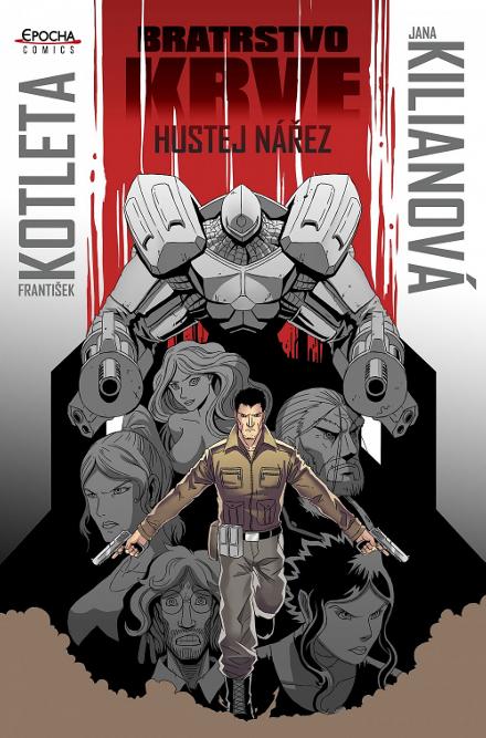 Hustej nářez – comic book